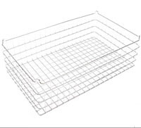 30x18x9 (25x25) 304 Stainless Steel Stacking Wire Tray
