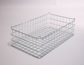 30x18x9 (50x50) 304 Stainless Steel Stacking Wire Tray