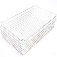 30x18x9 (75x25) 304 Stainless Steel Stacking Wire Tray