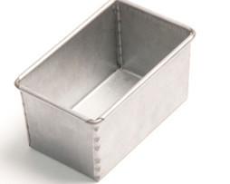 800g Bread Tin Single - Aluminium