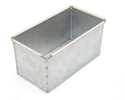 800g Sandwich Loaf Bread Tin Single - Alusteel