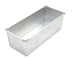800g Open Loaf Bread Tin Single - Alusteel