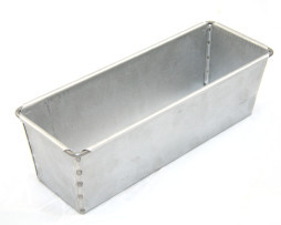 800g Long Split Bread Tin Single - Alusteel