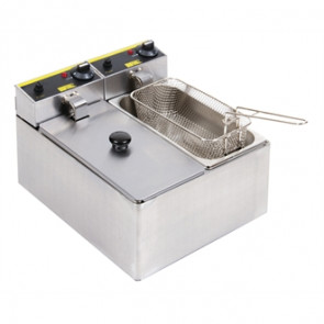 Buffalo Double Fryer 2x 3Ltr
