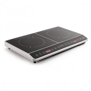 Buffalo Double Hob Induction Cooker