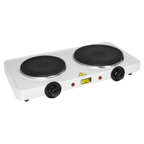 Buffalo Electric Countertop Boiling Rings Double