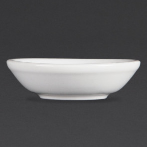 Olympia Whiteware Soy Dishes 74mm