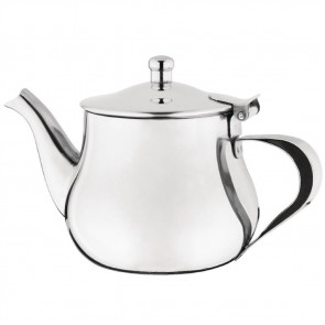 Olympia Arabian Tea Pot Stainless Steel 13oz