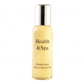 Health & Spa Range Herbal Fresh Bath and Shower Gel