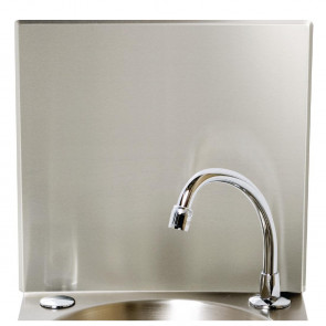 Stainless Steel Splashback Panel