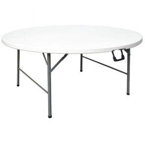Bolero 5ft Diameter Round Centre Folding Table