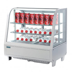 Polar Chilled Food Display 100Ltr White