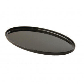 Small Black Oval Tray