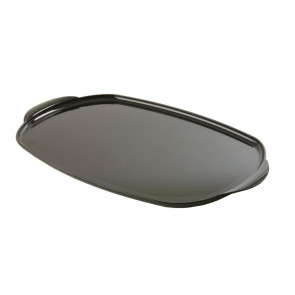 Large Black Oval Trays