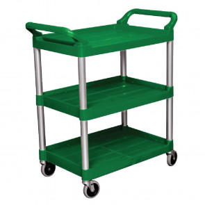 Rubbermaid Compact Utility Trolley Green