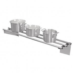 Vogue Stainless Steel Wall Shelf 1200mm
