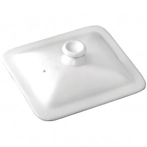 Olympia Whiteware Gastronorm Lid 1/6 Size