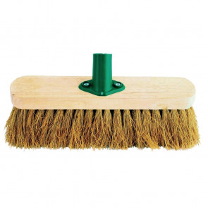 Jantex Wooden Broom Head Soft Coco 12in