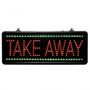 LED Take Away Display Sign