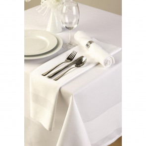 Satin Band Tablecloth 54in