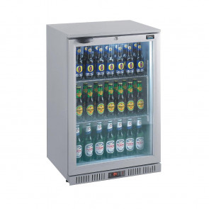Lec Back Bar Bottle Cooler Silver 106 Bottles