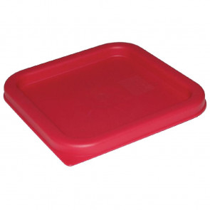 Vogue Square Lid Red Small