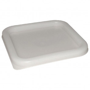 Vogue Square Lid White Small