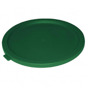 Vogue Round Lid For 6 to 7.5Ltr Containers Green