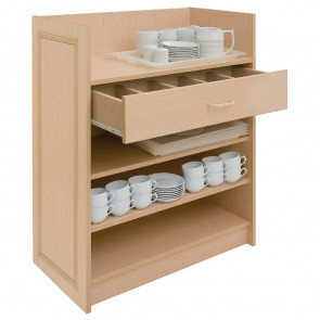 Dumbwaiter Without Doors Ash
