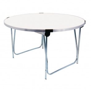 Gopak Round Table White Buffet 4ft