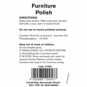 Jantex Furniture Polish