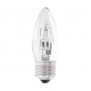 Status Halogen Energy Saving Candle Bulb 28watt