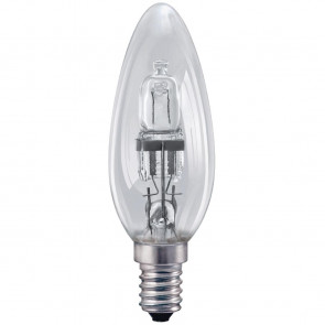 Status Halogen Candle Bulb SMALL Edison Screw 42W
