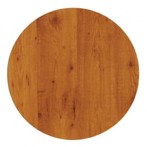 Werzalit Round Table Top Pine 600mm