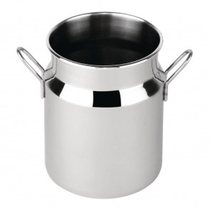 Mini Milk Churn Stainless Steel Large
