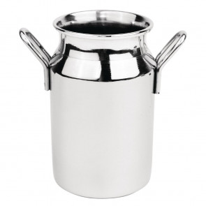 Mini Milk Churn Stainless Steel Medium