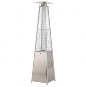 Tahiti Flame Stainless Steel Patio Heater 13kw