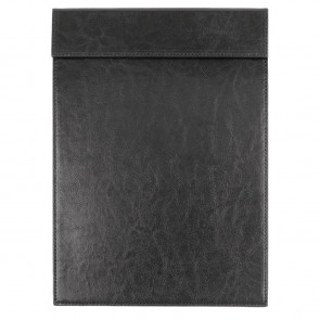 Olympia Leatherette Magnetic Menu Holder Black A5