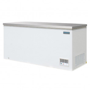 Polar Chest Freezer with Stainless Steel Lid 516Ltr