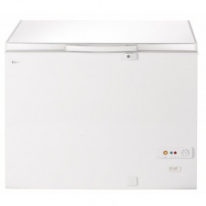 Lec White Chest Freezer 295Ltr