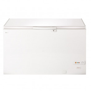 Lec White Chest Freezer 400Ltr