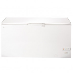 Lec White Chest Freezer 490Ltr
