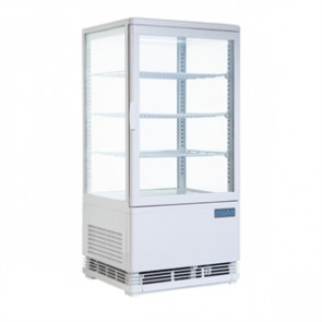 Polar Curved Door Display Fridge 86 Ltr