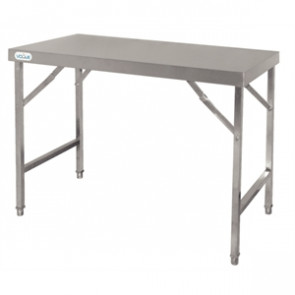 Vogue Stainless Steel Folding Table