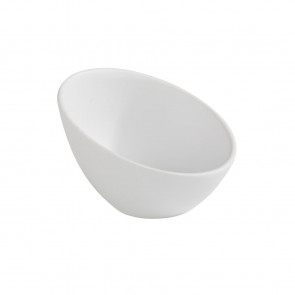 APS Zen Melamine Round Sloped Dipping Pot White 80ml
