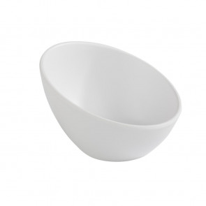 APS Zen Melamine Round Sloped Bowl White 150ml