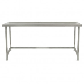 Parry Fully Welded Stainless Steel Centre Table 1200x650mm