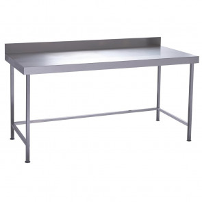 Parry Fully Welded Stainless Steel Wall Table 1200x700mm