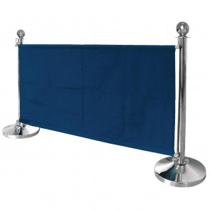 Bolero Dark Blue Canvas Barrier