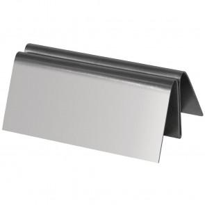 Stainless Steel Menu Holder